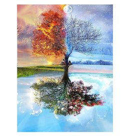 Parya Official Painting by number - Adults - 4 Seasons - Hobby Package