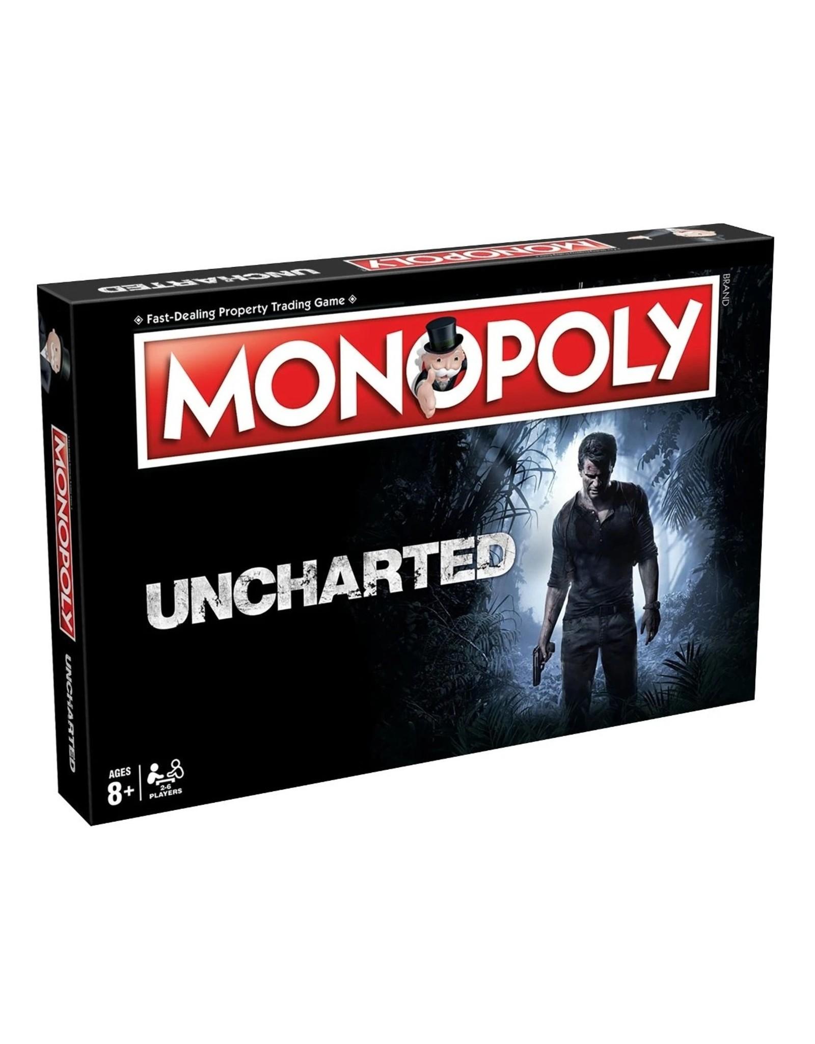 Monopoly Monopoly - Uncharted - Bordspel - Engelstalige Versie
