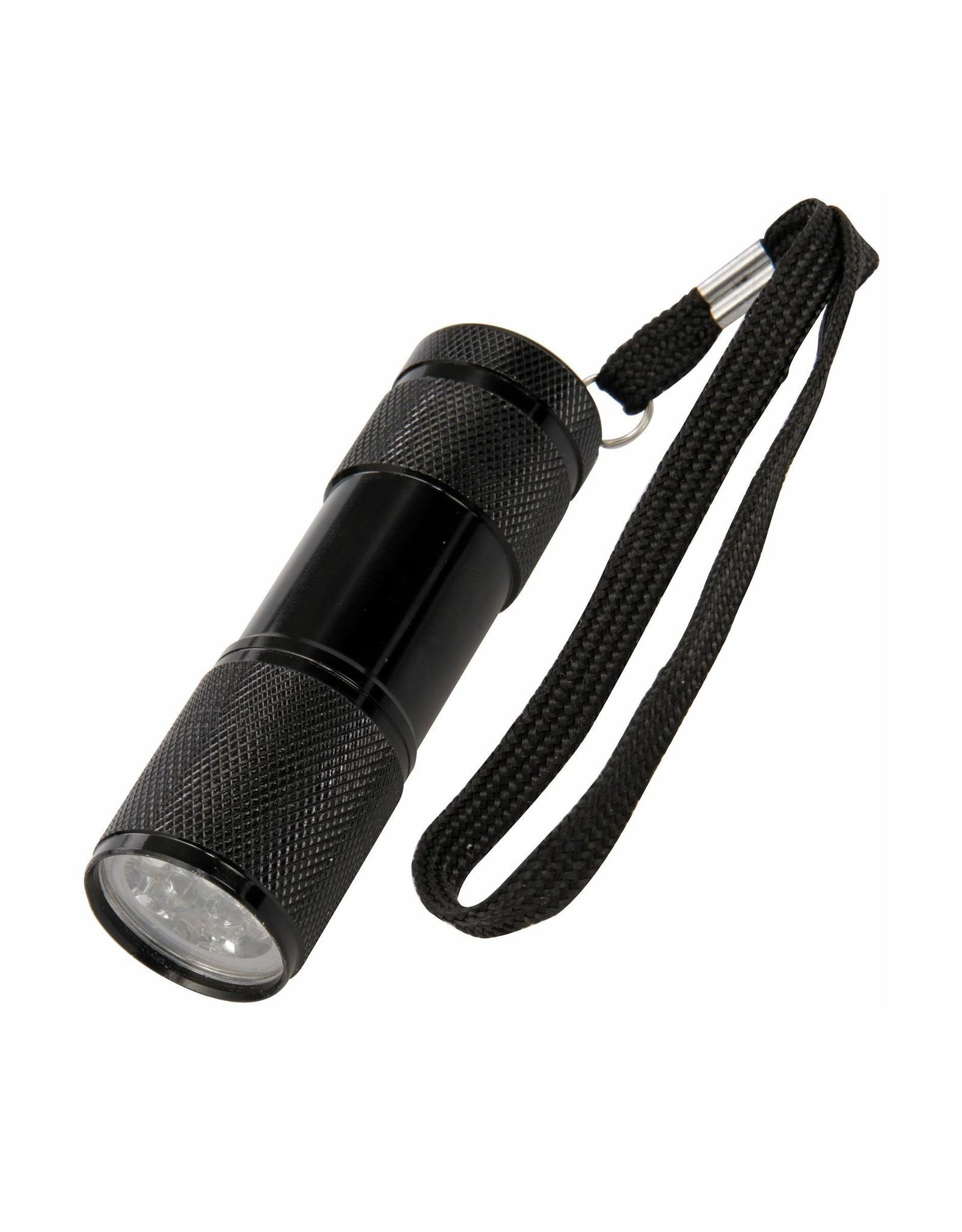 Militaire Zaklamp - UV Verlichting - Zwart