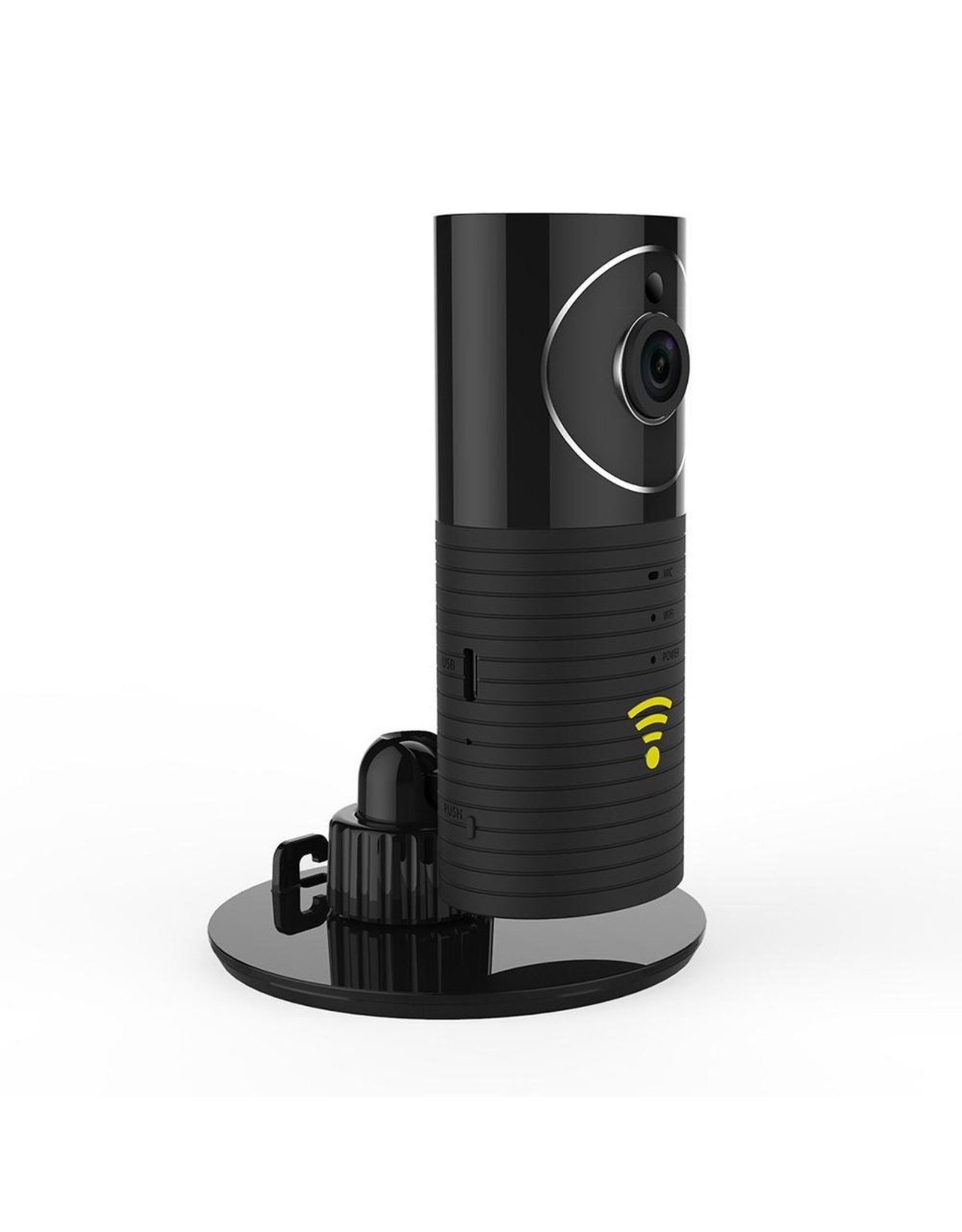Clever Dog - Panorama - Cam 165° - Black