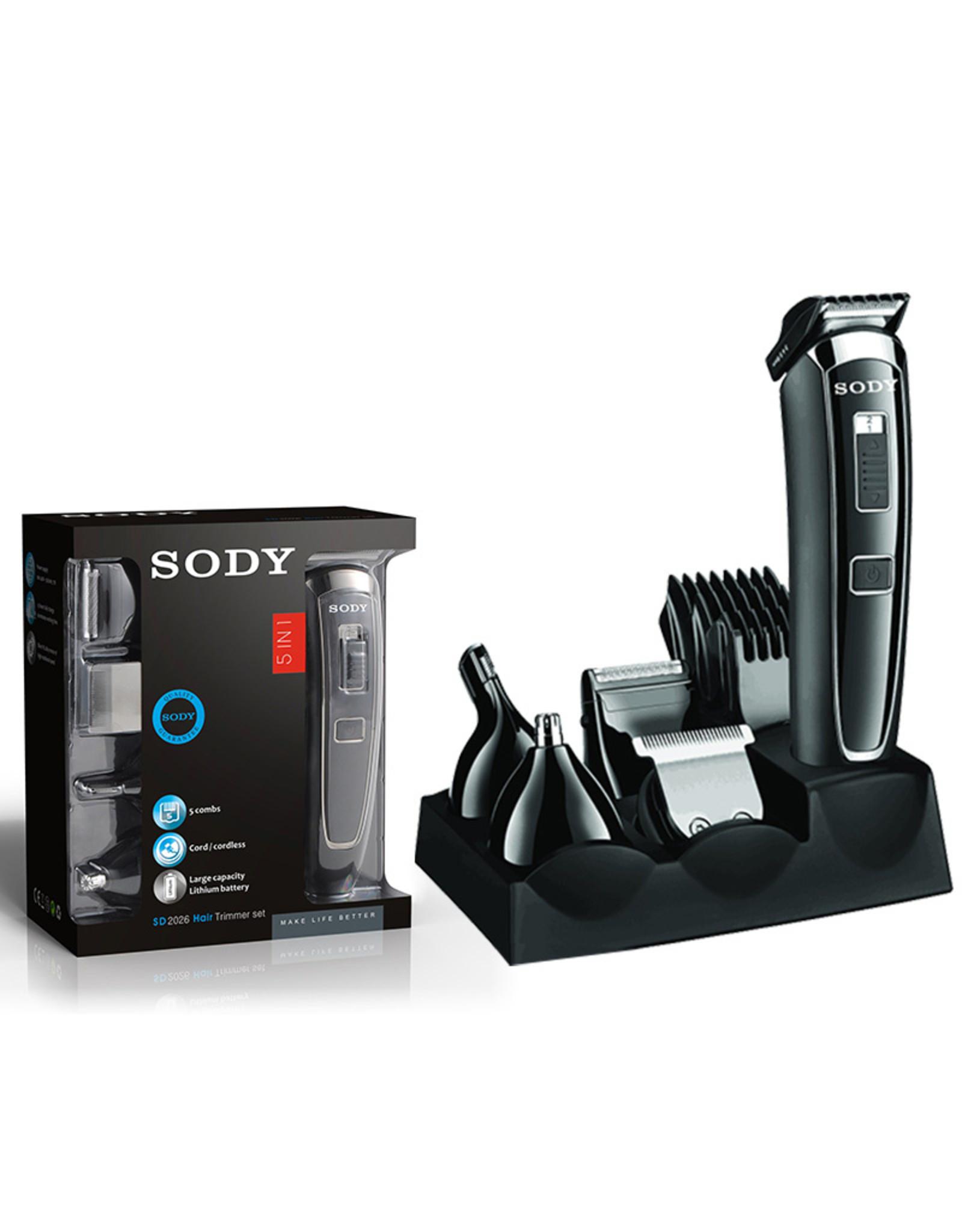 SODY SODY - SD2026 -5-in-1 Elektrische Scheerapparaat