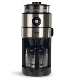 Livoo - Coffee maker - With integrated coffee grinder