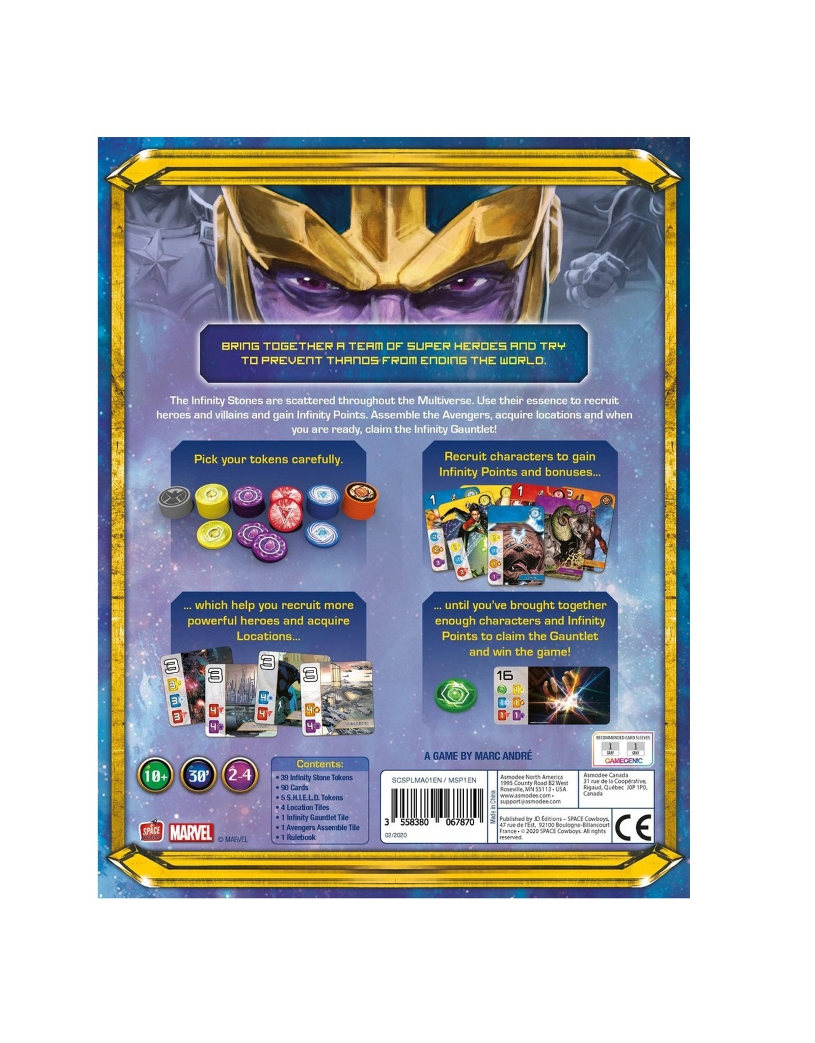 Splendor - Marvel Editie - Bordspel - Engelstalige versie