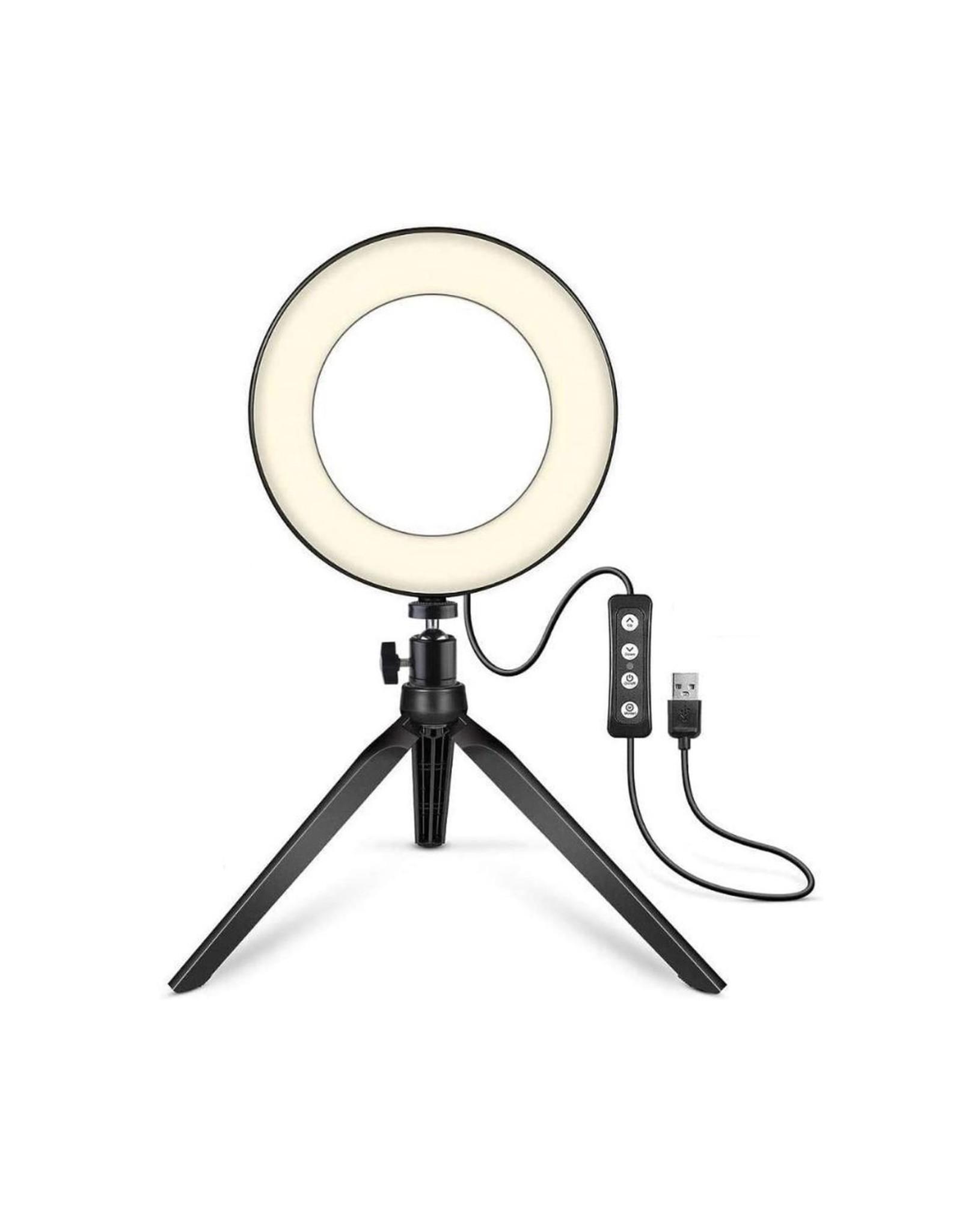 Parya Official Parya Official - LED Ringlight - Met Telefoonhouder - 40 cm