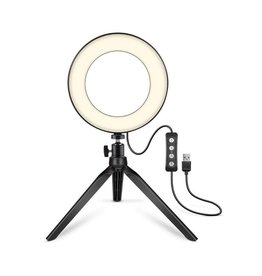 Parya Official Parya Official - LED Ringlight - with telephone holder - 40 cm