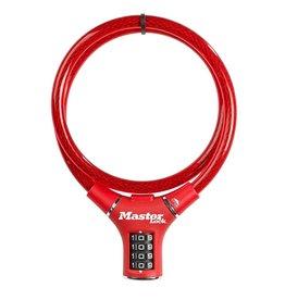 MasterLock MasterLock - Cable lock - 90 cm - Red