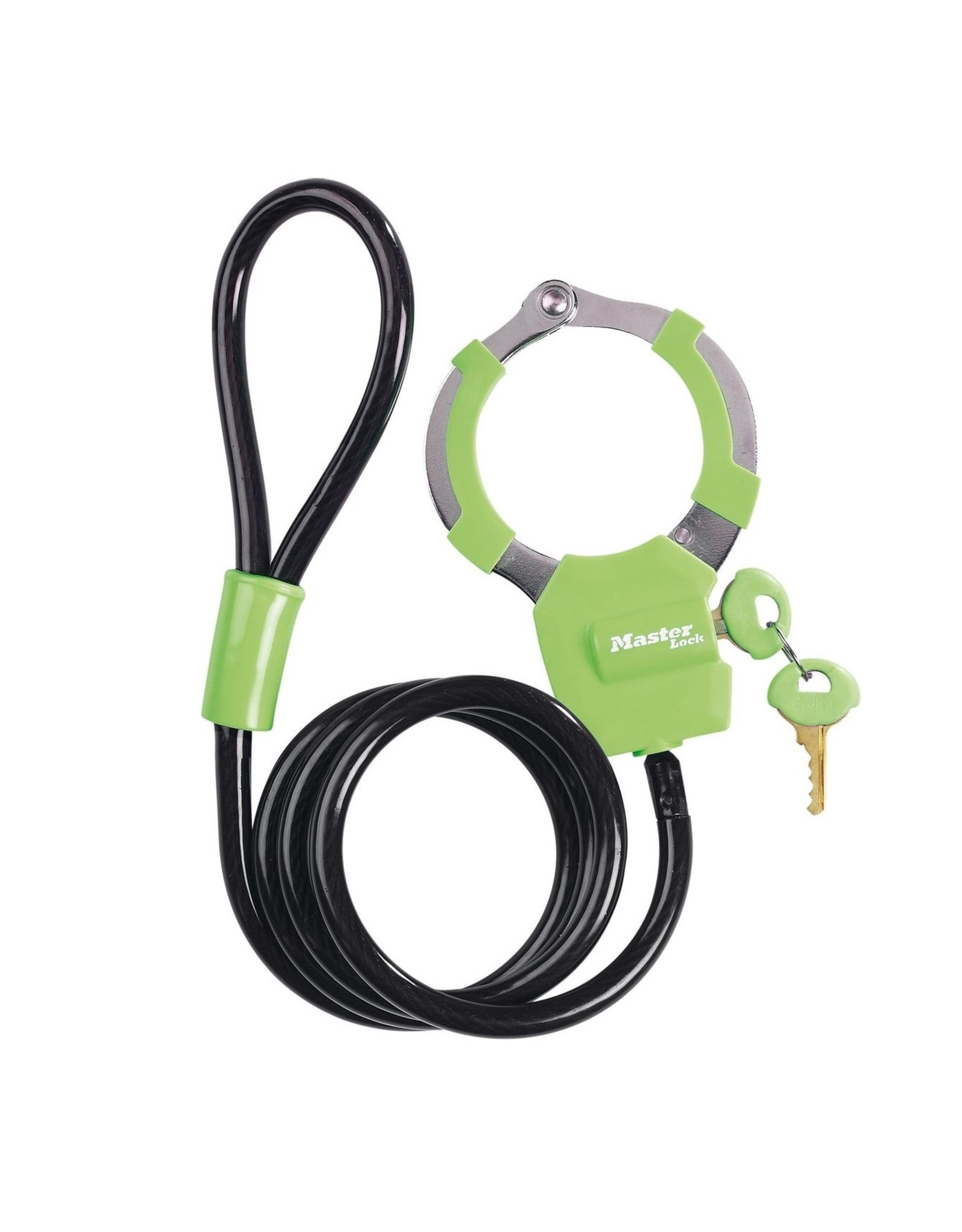 MasterLock MasterLock - Kabelslot - 1 meter -  Groen