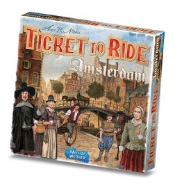 Ticket to Ride Ticket to Ride - Amsterdam - Bordspel