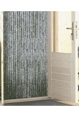 Wicotex vliegengordijn kattenstaart 90x220cm grijs uni -
