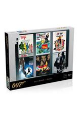 James Bond Puzzel - 1000 stukjes - Acteurs Debuut Poster