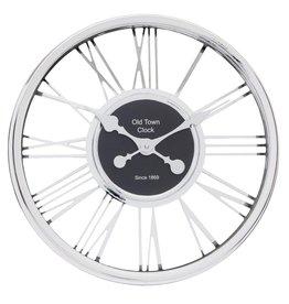 Atmosphera Atmosphera - Silver wall clock - Diameter Ø44
