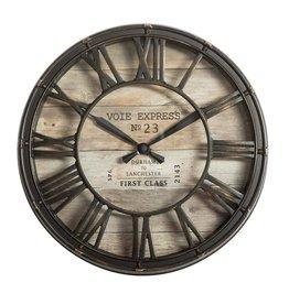 Atmosphera Atmosphera - Metal Wall Clock - Diameter Ø21 cm