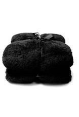 Unique Living - Teddy - Fleece - Plaid - 150x200 cm - Black
