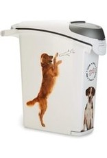 Curver - Voedselcontainer Hond - Wit - 23L - 10kg