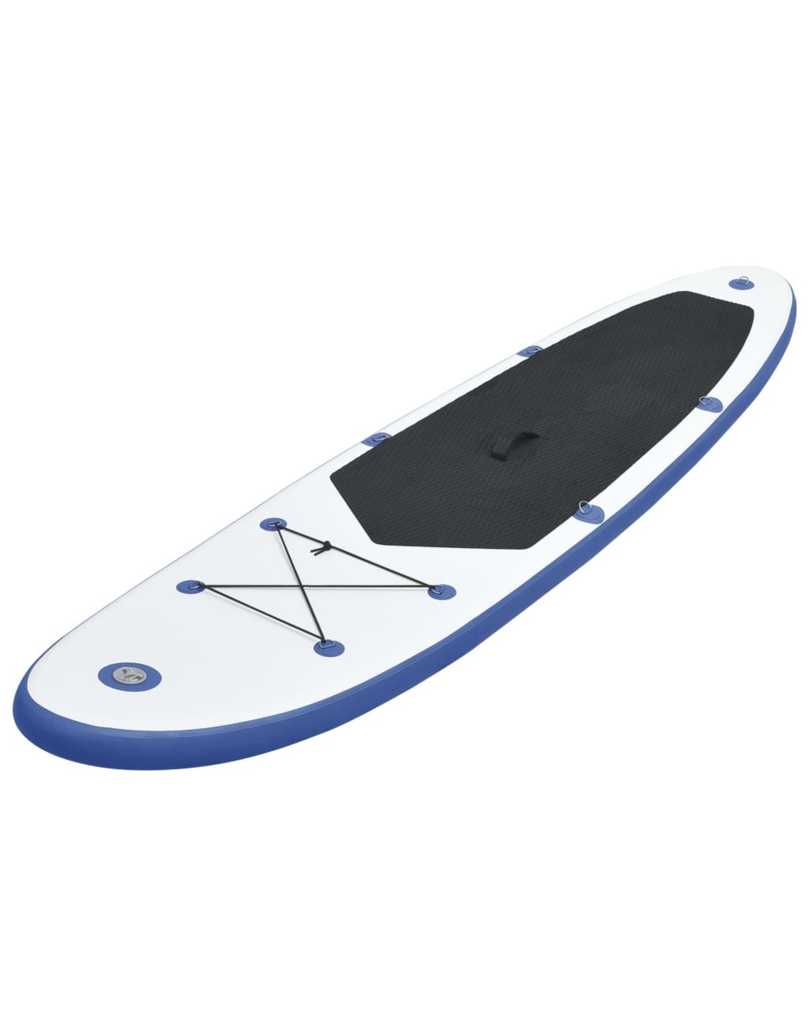 Stand Up Paddleboardset opblaasbaar blauw en wit