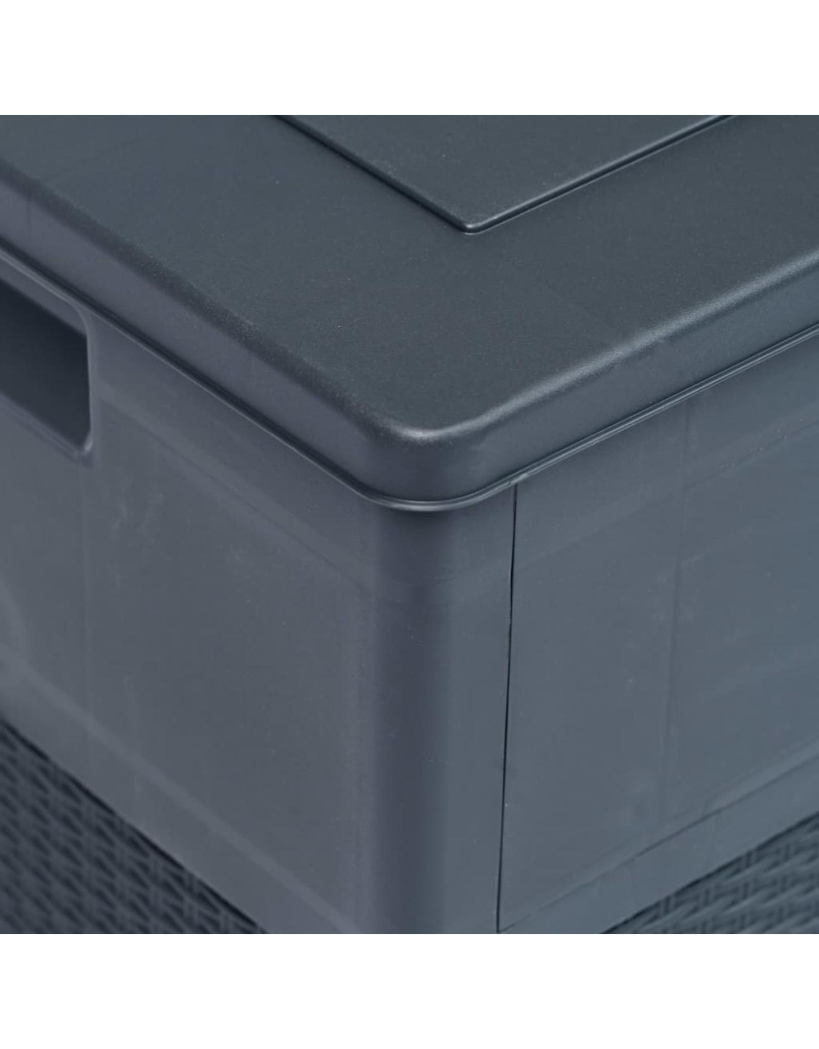 Opbergbox 320 L antraciet