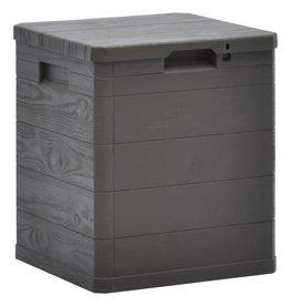 Opbergbox voor in de tuin 90 L bruin