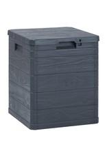 Opbergbox 90 L antraciet