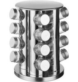 Secret de Gourmet - Spice rack - Rotatable - 16 jars
