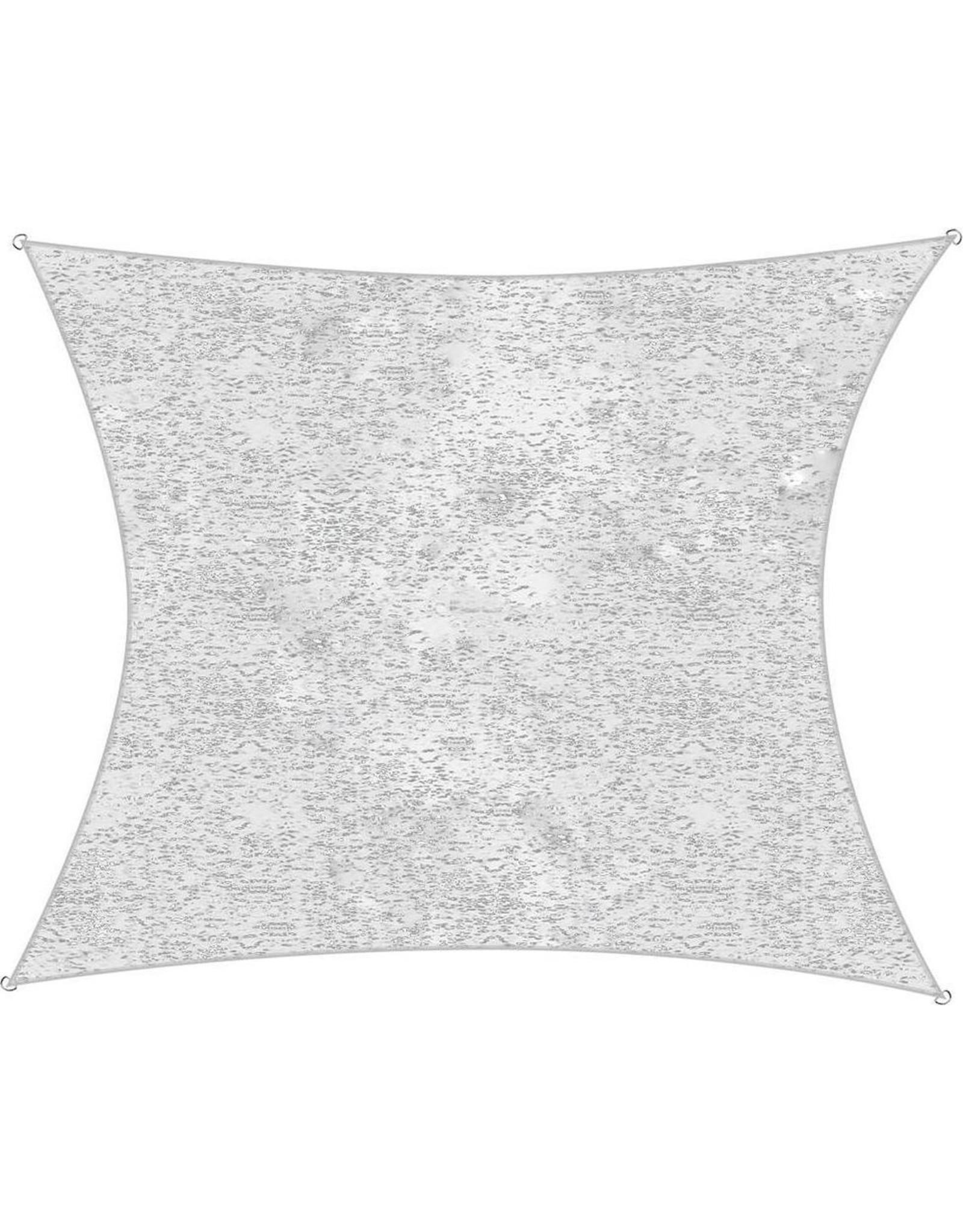 Camouflage schaduwdoek grijs 2 x 3 m
