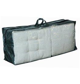 Lesliliving Garden cushion cover with zipper - 125 x 32 x 50 cm - Green/Grey
