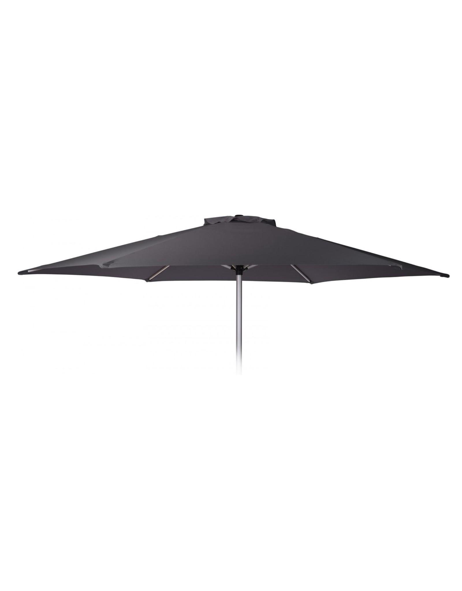 Pro Garden - Parasol - Ø270 cm - Aluminium - Grijs