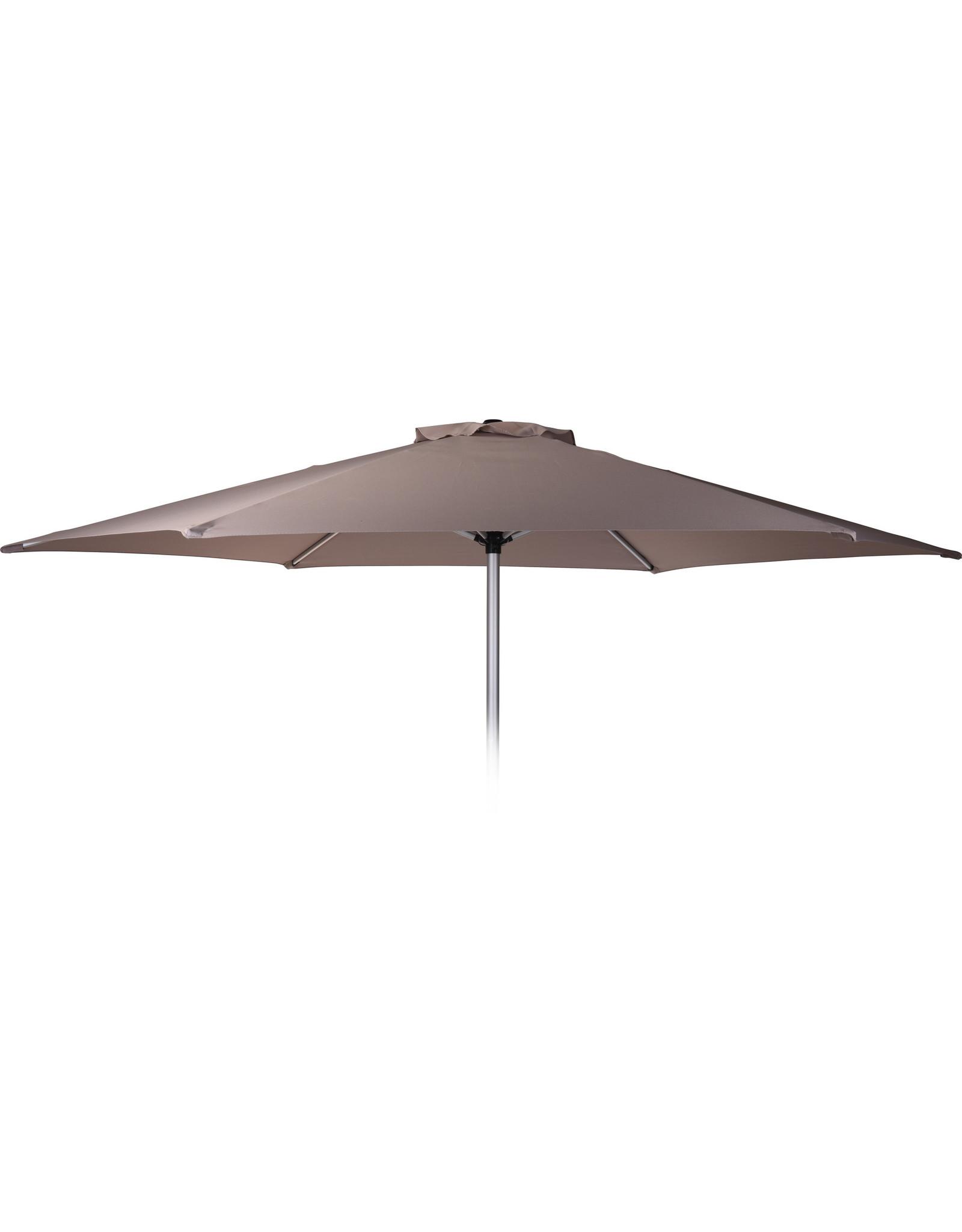 Pro Garden - Parasol - Ø270 cm - Aluminium - Taupe