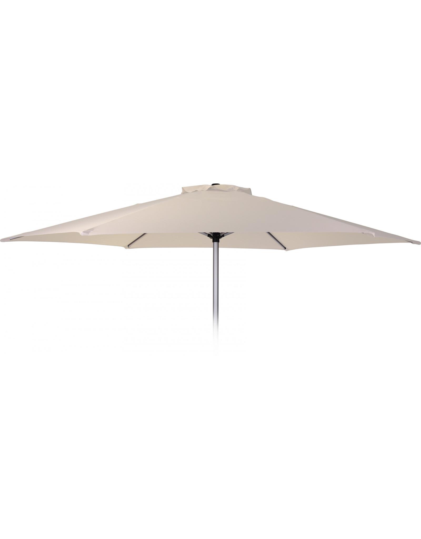 Pro Garden - Parasol - Ø270 cm - Aluminium - Wit - EV