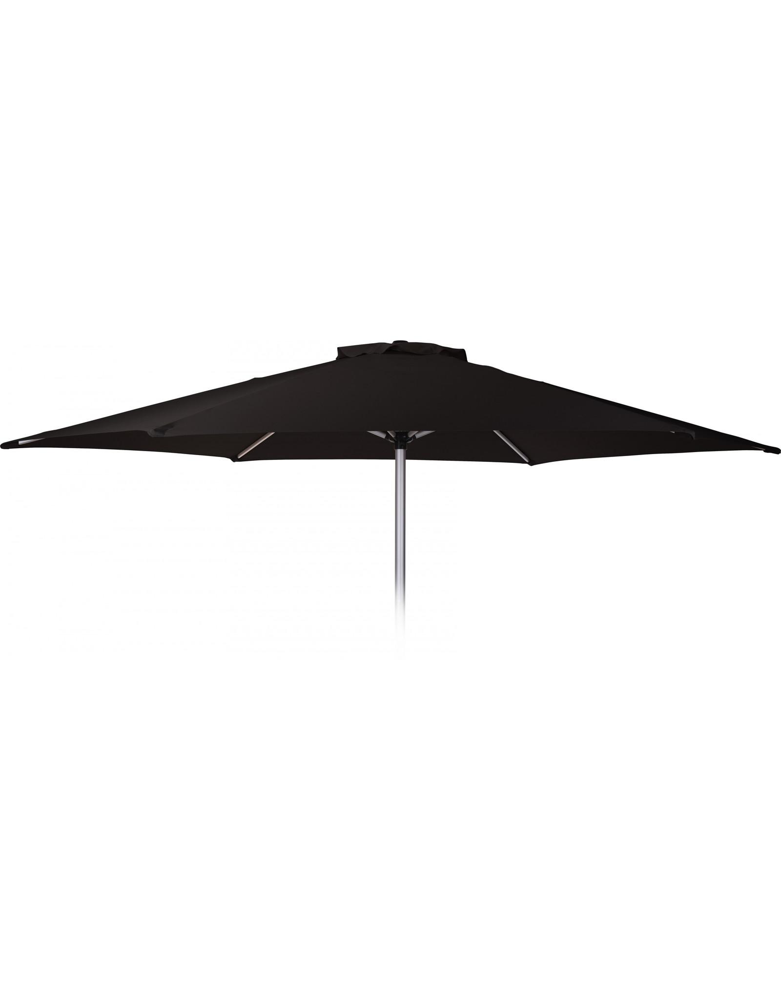 Pro Garden - Parasol - Ø270 cm - Aluminium - Zwart