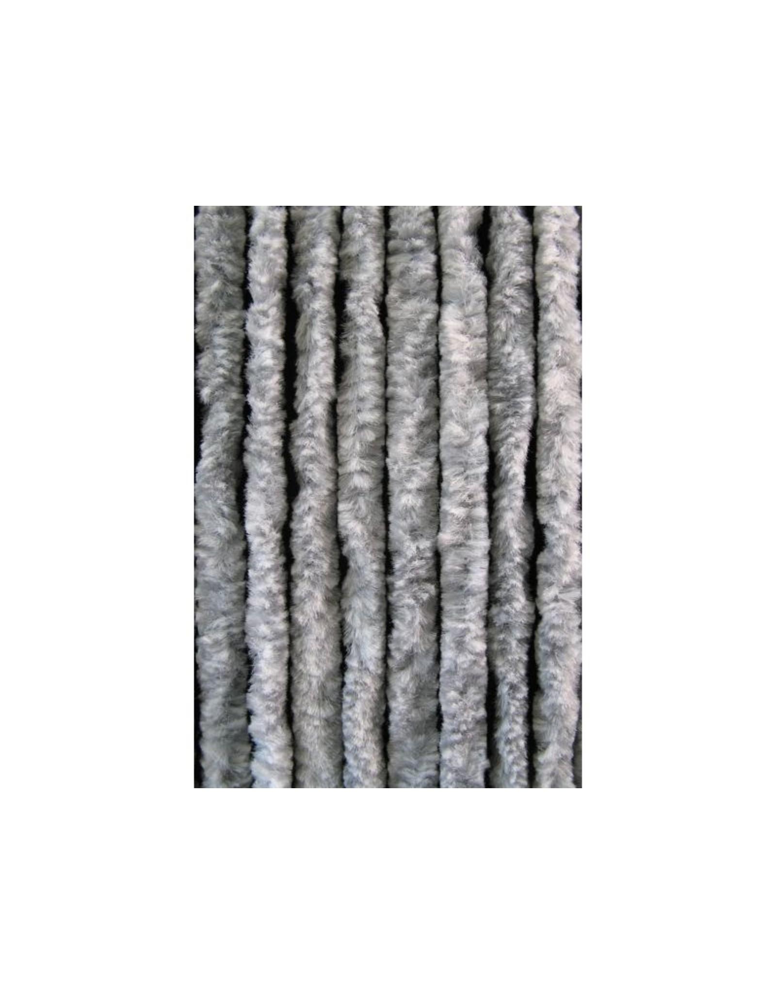 Cortenda Kattenstaart Vliegengordijn - Grijs/Wit - 90 x 220 cm