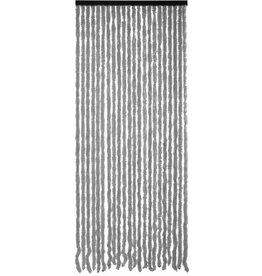 Wicotex - Vliegengordijn Kattenstaart - 90 x 220 cm - Grijs Uni - Hor Gordijn