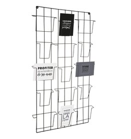 Atmosphera Atmosphera - Wall holder - for pictures or cards - Metal - 15 compartments