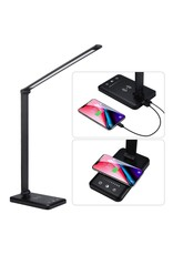 LED Bureaulamp - Draadloos Opladen Voor Smartphone.