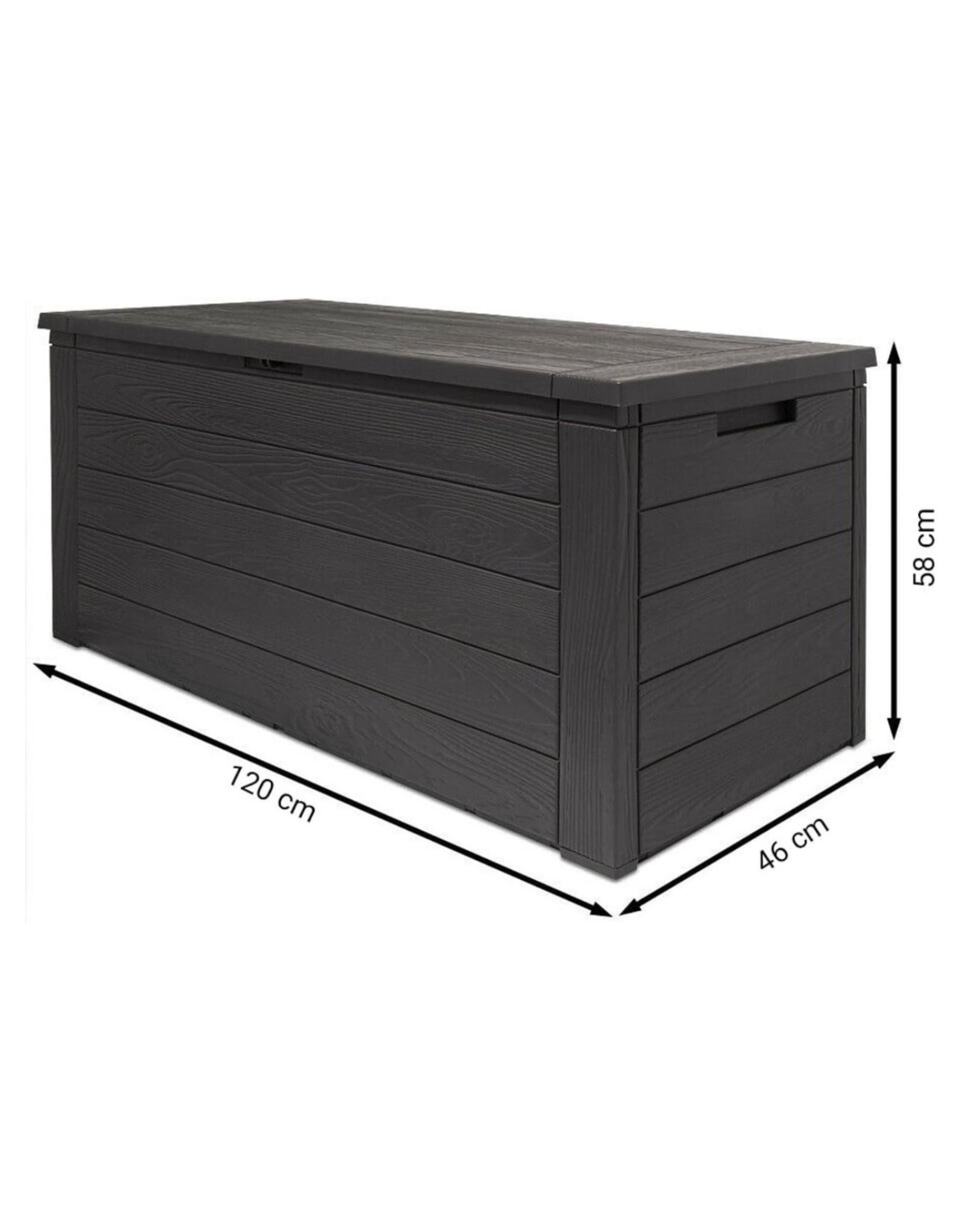 Houtlook Tuinkist - Opbergbox - Kunststof - 300 Liter