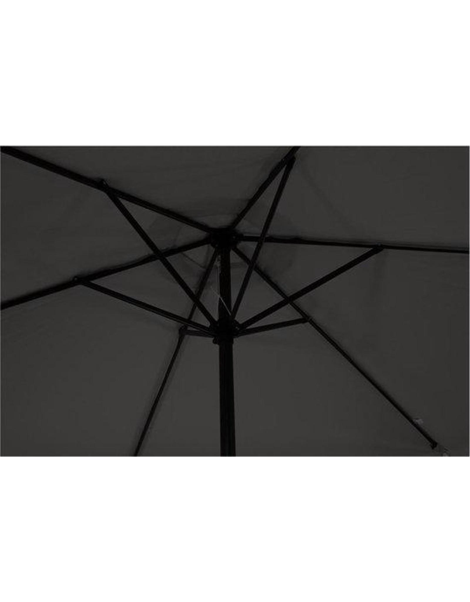 Outdoor Living Gemini Parasol - stokparasol - Ø300 cm - Donkergrijs
