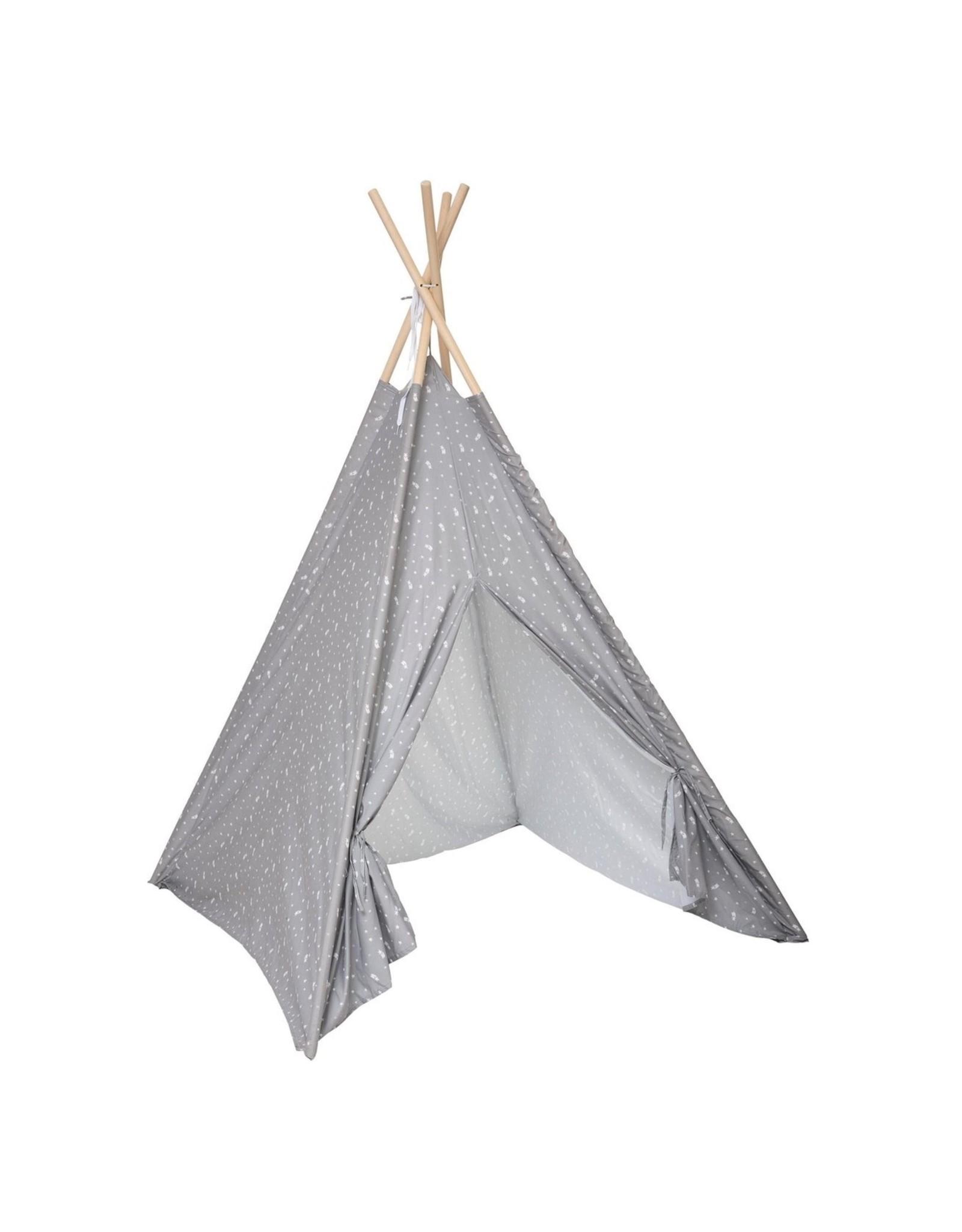 Atmosphera Atmosphera - Kinder Tipi-Tent - Wigwam - Donkergrijs