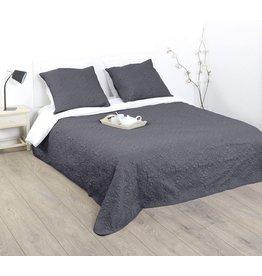 Atmosphera Atmosphera - Bedding Padded - incl.  Pillowcases - Grey