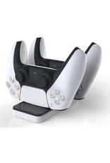 Parya Official - Playstation 5 - Oplaadstation Controller - 2 Controllers - Liggend