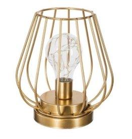 Atmosphera Metal Golden Lamp