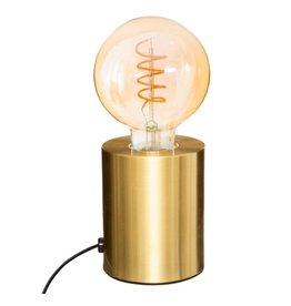 Atmosphera Design Table Lamp Gold 10.5cm