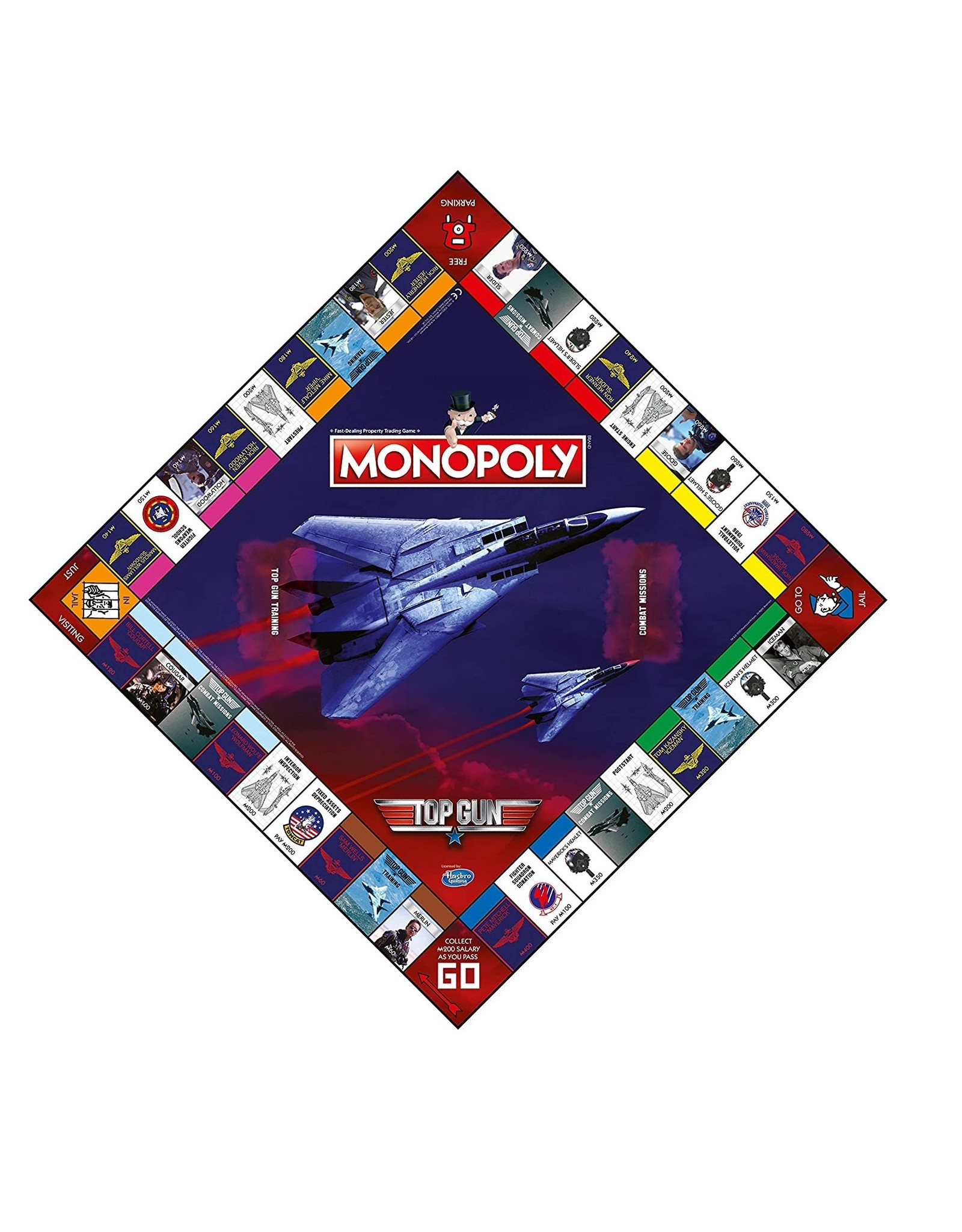 Monopoly Top Gun - Monopoly - Bordspel - Engelstalig