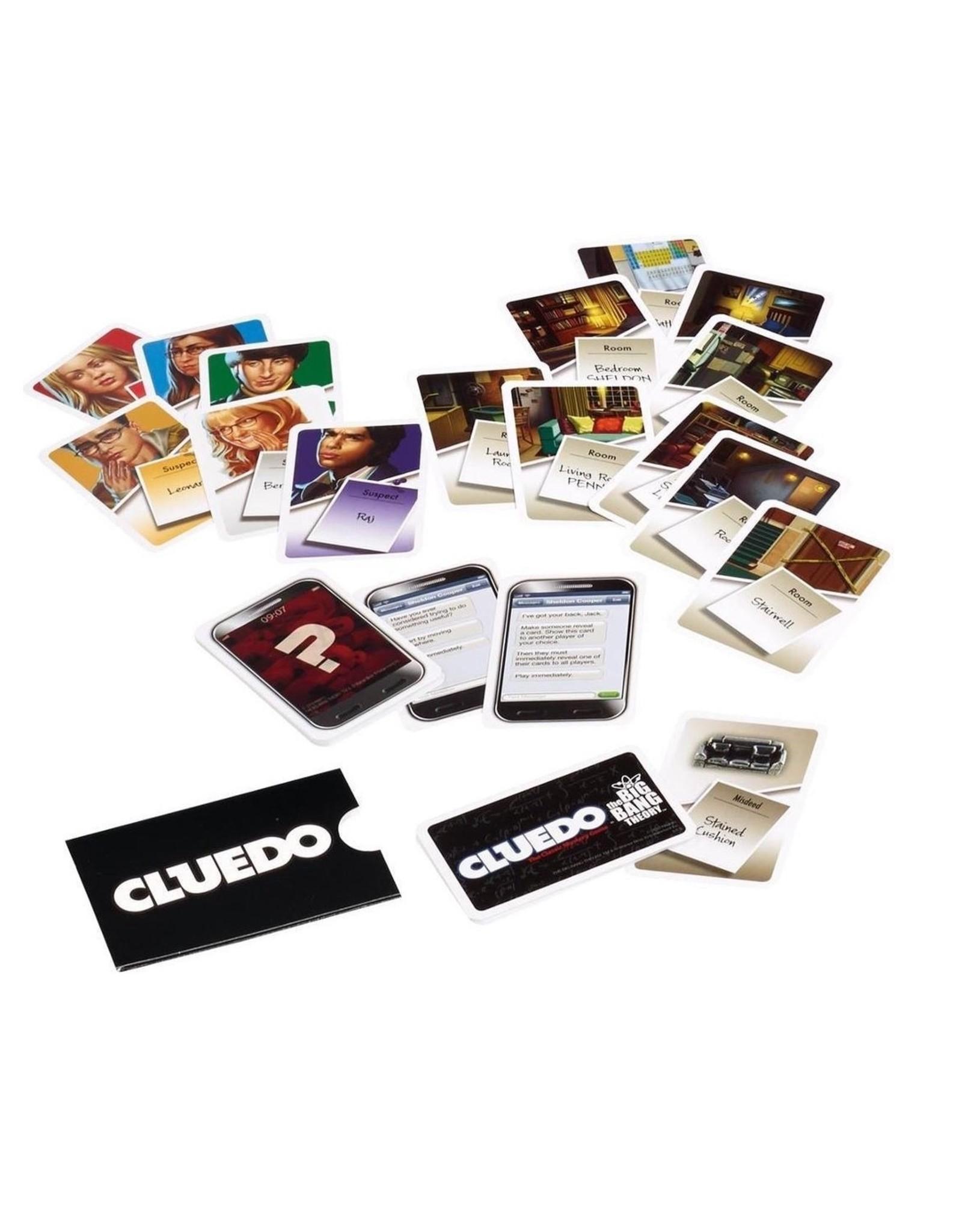 Cluedo Cluedo - Big Bang Theory - Bordspel - Engelstalig