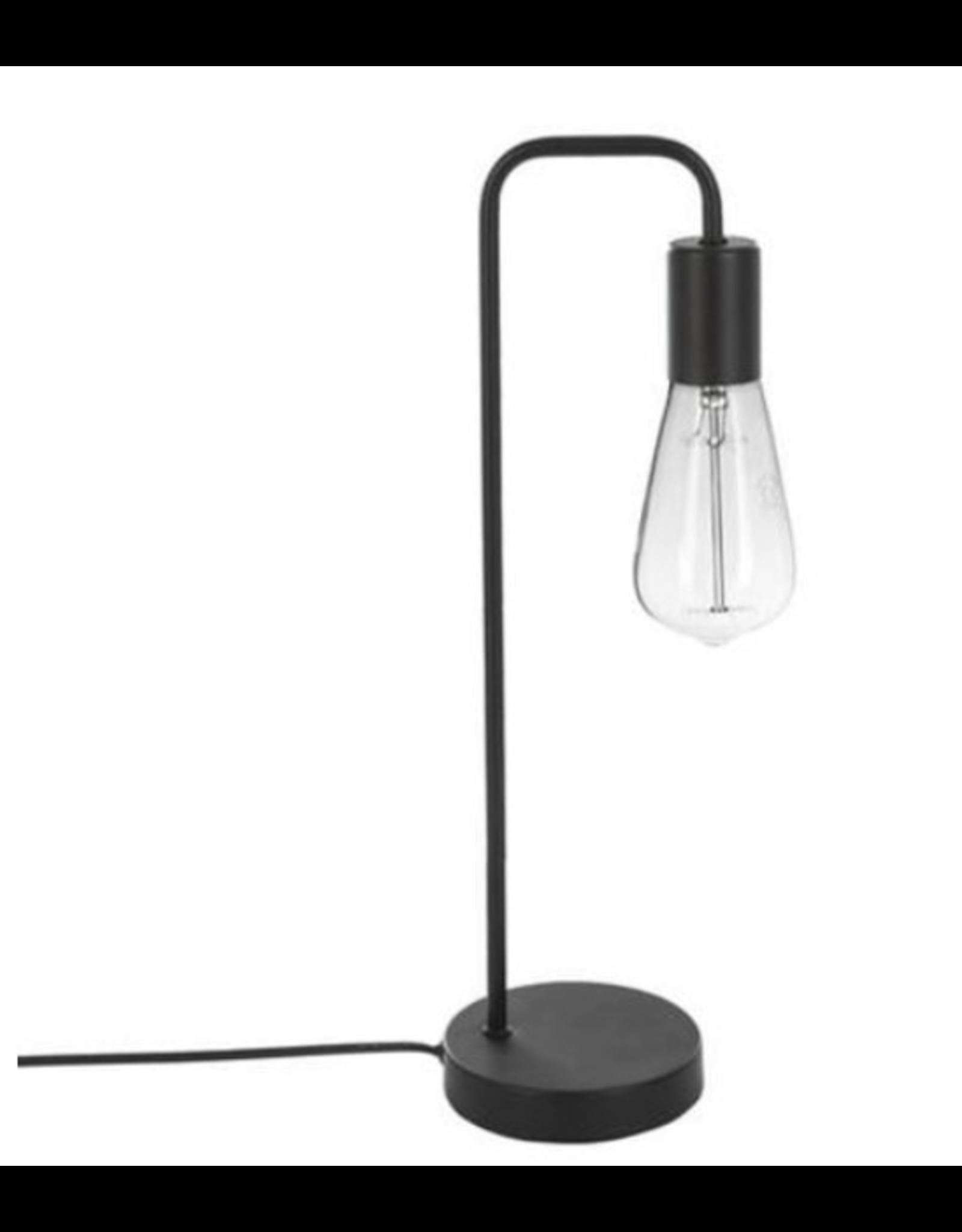 Atmosphera Metalen Industriële Tafellamp zwart Hoogte 46CM