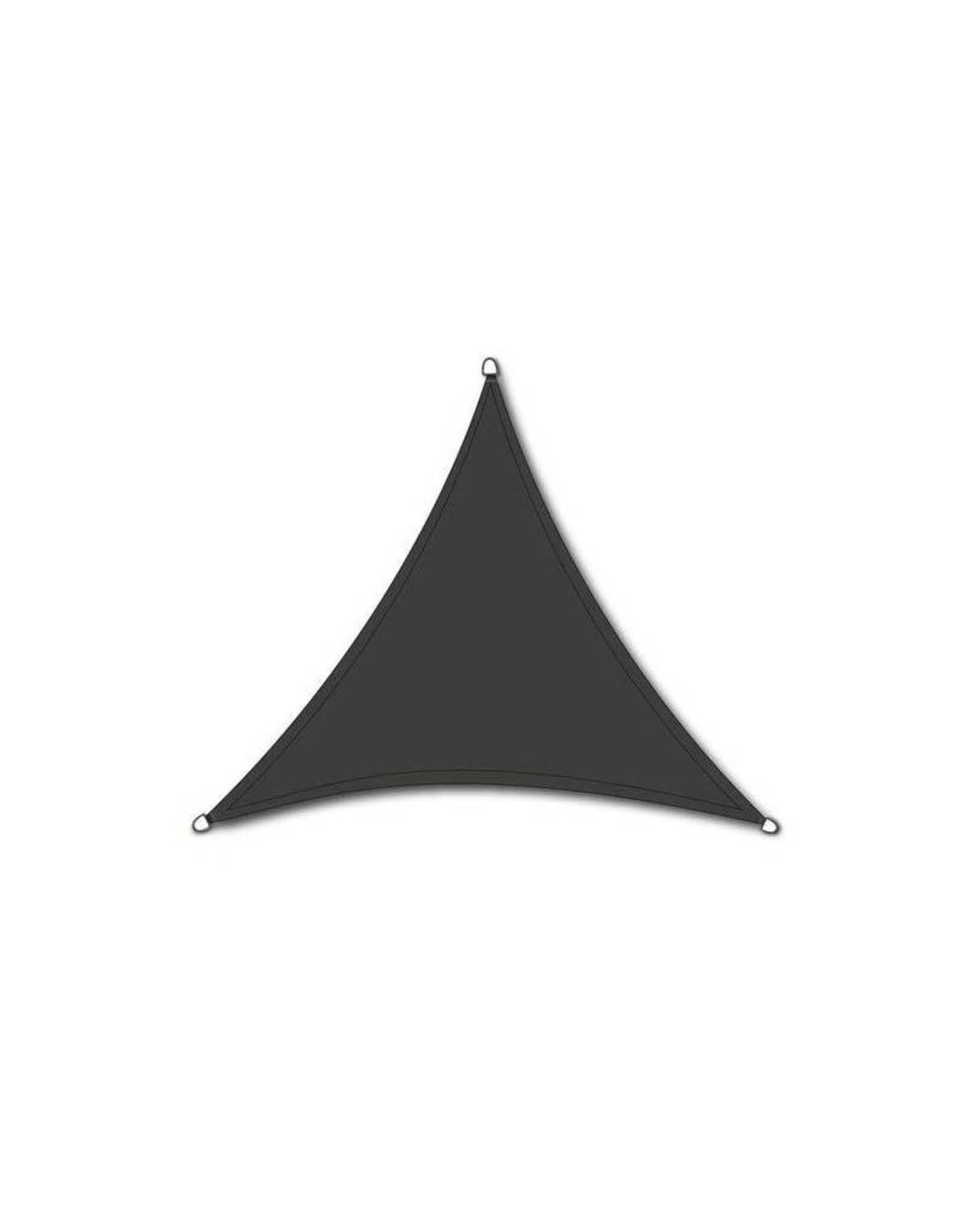 Ambiance - Schaduwdoek - Donkergrijs - 3.6x3.6x3.6m