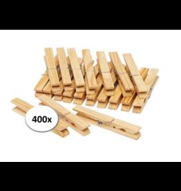 Wasknijpers - 400 stuks - Hout