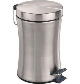 Wenko Wenko - Pedal bin - Stainless steel - Silver