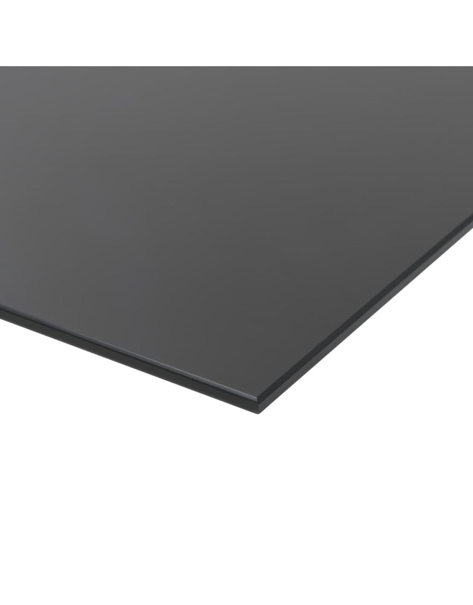 Schoolbord voor aan de wand magnetisch 80x60 cm glas