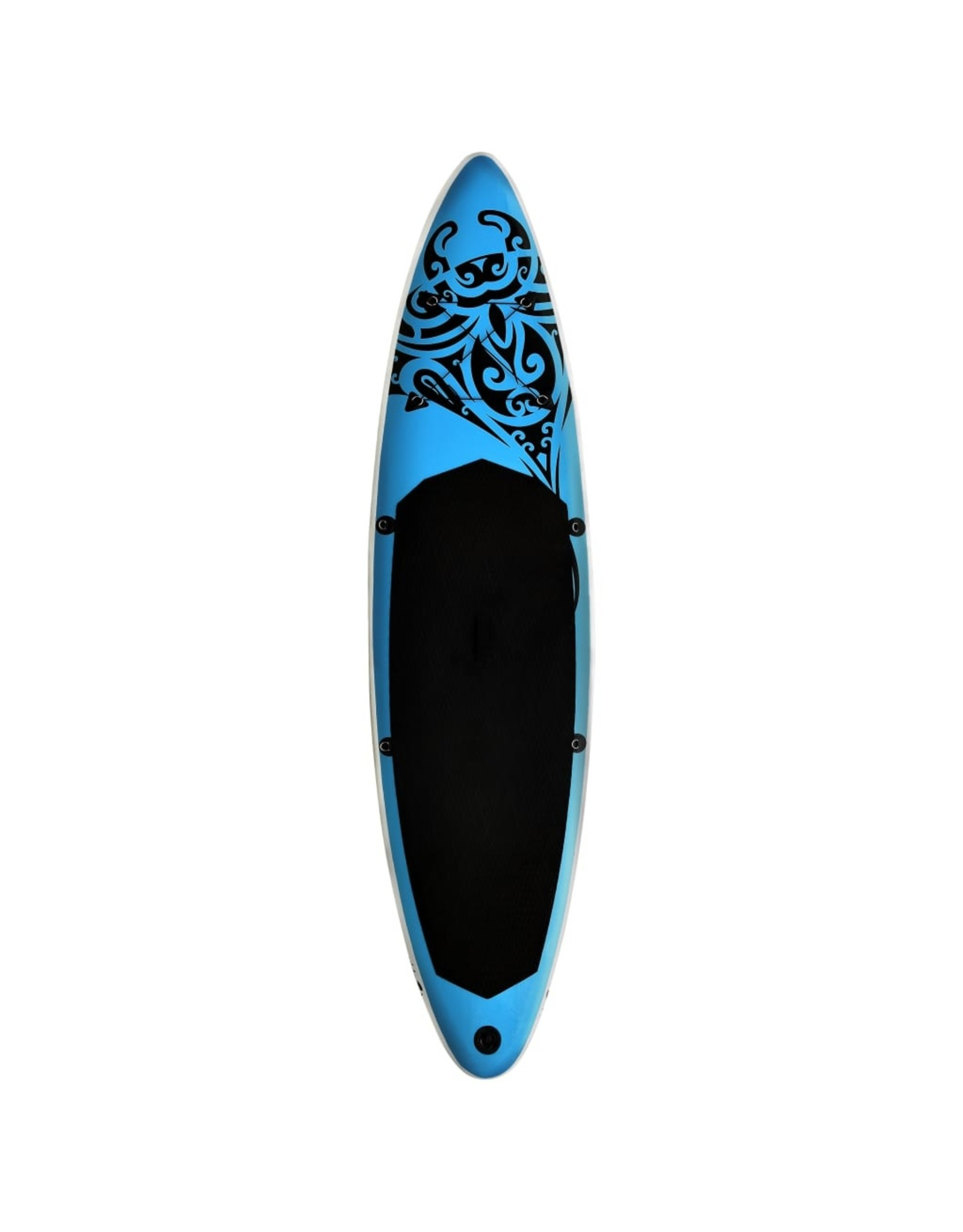 Stand Up Paddleboardset opblaasbaar 305x76x15 cm blauw