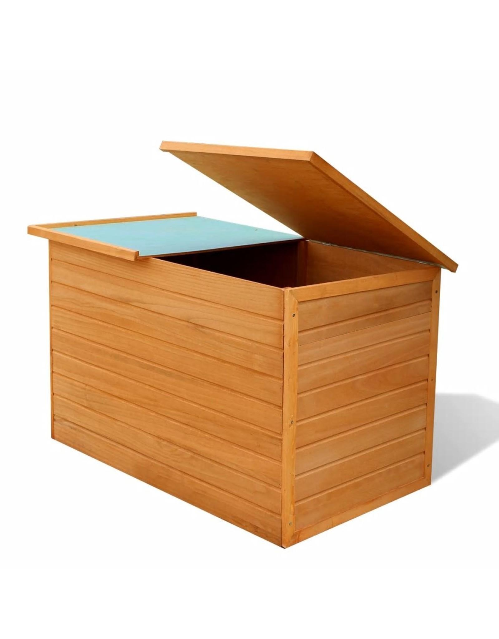 Tuinbox 126x72x72 cm hout