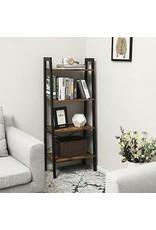 Parya Home Parya Home - Boekenkast - Metaal - Zwart